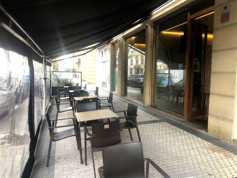 Terraza Restaurante Antiguo Donosti